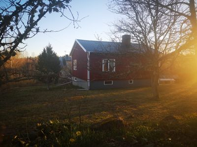 Photo for Beautiful holiday home in the middle of Småland - with lake and fishing + canoe