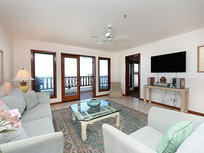 Photo for Spectacular Ocean Views from the Bluff's Edge! Only 6 Steps , Golf Cart