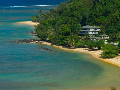 Photo for Anini Beach! Sunset Views. A/C. Huge Luxury House. Includes Beach Gear.