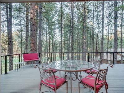 Photo for Spacious, modern home w/game room & deck, shared pool/hot tub