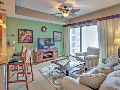 Photo for Breezy Panama City Beach Condo w/Private Patio