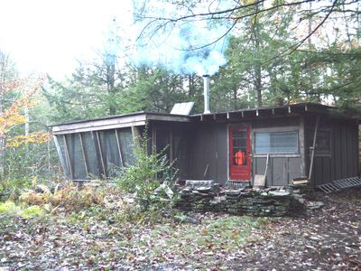 Photo for Wilderness Waterfront Cabin on the river --- Supremely private and off the grid