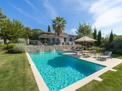 Photo for VILLA ARIA, Superb contemporary villa on the doorstep of SAINT TROPEZ