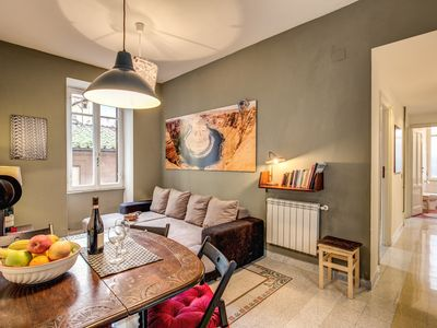Photo for Bright 3 bedroom apartment in the heart of Monti area,  within five minutes walking to the Coliseum.