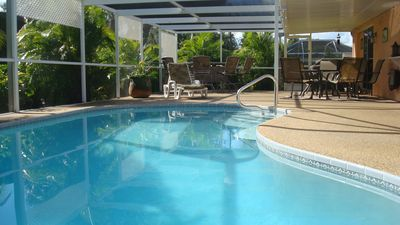 Photo for Southern exposure, Solar heated pool, Pool table