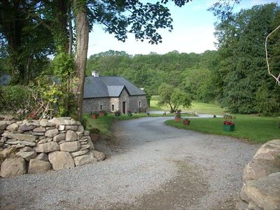 Photo for Secluded, Private Cottage on 4 Acres by a River
