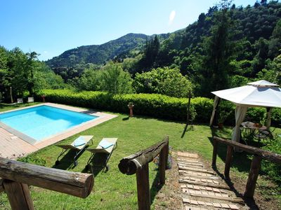Photo for Wonderful 4 bedroom villa in Tuscany  between Florence & Lucca