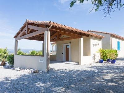 Photo for Typical French holiday villa with boules court and private swimming pool