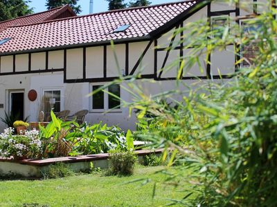 Photo for Apartment on a holiday farm in a wonderful, quiet and sunny location.