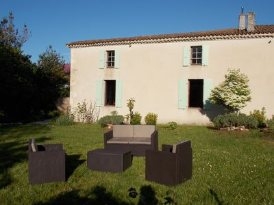 Photo for Cottage 10 places, Talmont-sur-Gironde (near Royan)