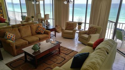 Photo for Low Floor Condo w/ FREE WIFI! Gulf views with 11 Pools, Kids Splash Pad & Fit