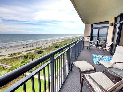Photo for Large Oceanfront 4 bdrm, 4 bath Unit (7th Floor) - by Luxury Beach Rentals