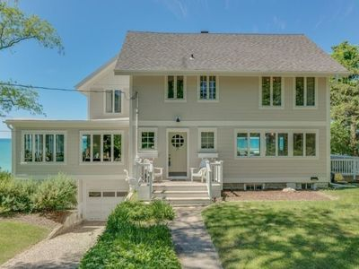 Photo for Lakefront, large deck, close to playground and golf course