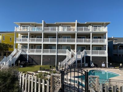 Photo for Oceanfront, Spacious Condo w/ Breathtaking Views! Community Pool & Elevator!