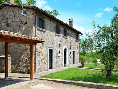 Photo for Vacation home Casale Cimacolle  in Castiglione in Teverina, Umbria - 6 persons, 3 bedrooms