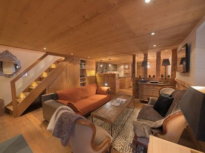 Photo for La Clusaz- Center village, Exceptiponal apartment