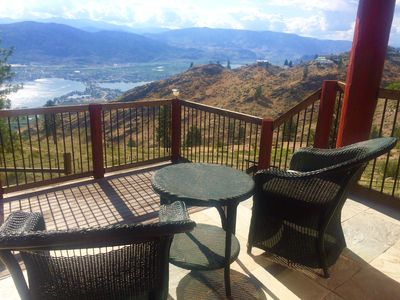 Photo for The Ginger Bread House overlooking Osoyoos Lake