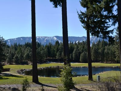Photo for 18th Green of Prospector Golf Course - Golf Course, Water and Mountain View