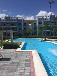 Photo for Beautiful 2 bed 2 bath condo steps to the beach