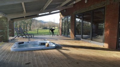 Photo for 3 Bedroom Barn - sleeps 8 (Hot Tub)