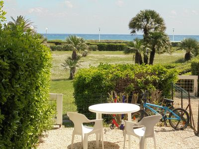 Photo for T2 26 m2 Front Sea 4 beds WIFI in CANET SUD