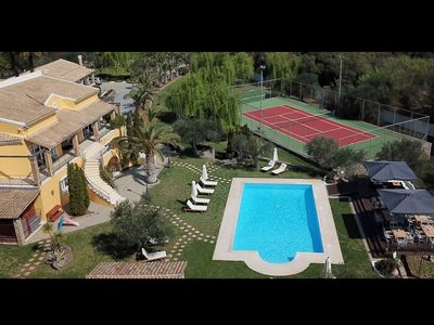 Photo for Spacious Villa in Corfu with Private Pool