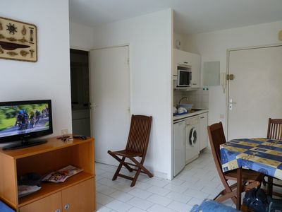 Photo for T2 with Balcony 50m from the beach - Pornichet