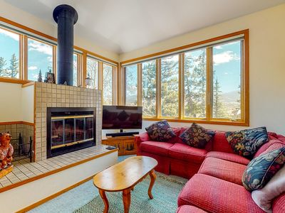 Photo for NEW LISTING! Bright, family-friendly home w/ fireplace & perfect location!