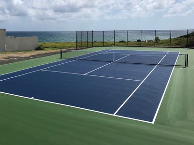 *NEW* Private Tennis Court