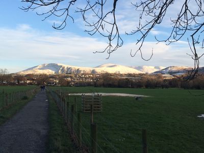 Your flat 15min walk to Keswick from Portinscale