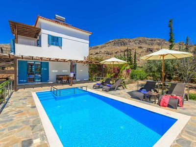 Photo for Villa Aqua Maris: Beautiful villa with pool, air-con, Wi-Fi & more near Lindos