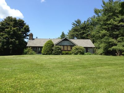 Photo for Family friendly, Beautiful Berkshire home With Patio and Pool