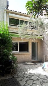 Photo for DUPLEX luxury apartment with garden in golf area