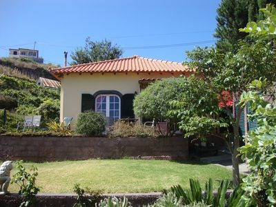 Photo for SERCIAL - Lovely Cottage with sea view, on the sunny south-west coast of Madeira
