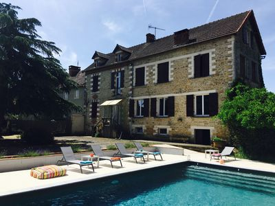 Photo for Holiday house with private swimming pool near Sarlat / Lascaux
