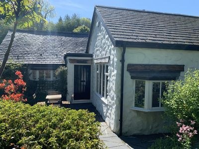 Photo for Beautiful Welsh stone cottage. Great walks. Great pub/food. Superfast broadband!