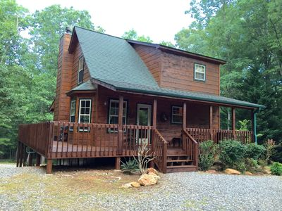 Photo for Great Specials-Lovely Nature Cabin on 3 Acres!