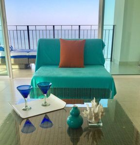 Photo for Luxury. 2 bed 2 bath. Great for couples & families Corner unit.  Ocean views