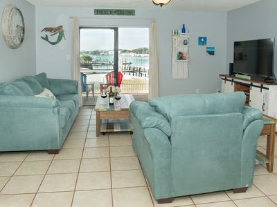 Photo for WOW! Just Remodeled BayFront Commodore's Landing Unit 120!