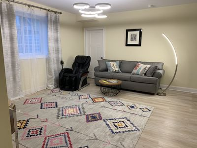 Photo for NEW,  Exclusive, Luxury totally separate unit. Walk Everywhere, Car Charger