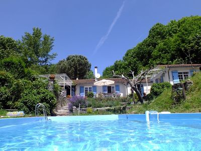 Photo for Cosy villa, with swimming pool, in the middle of a natural park nearby hotspots.