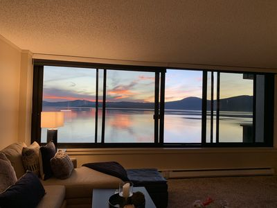 Photo for Lakefront Condo-North Shore Tahoe
