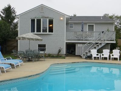 Photo for One Prime summer week left: 8/24-31. POOL, Central Air, Walk to Beach, Fenced ya