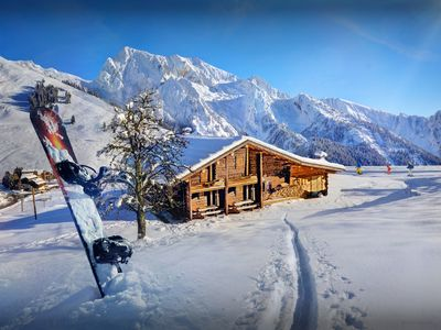 Photo for Open the door on to the piste at this unique Alpine apartment - OVO Network