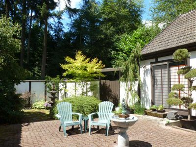 Photo for A Peaceful Woodland Retreat 20 minutes from Seattle and from Puget Sound ferries