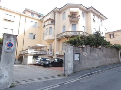 Photo for APARTMENT IN VILLA WITH GARAGE, NEAR THE 5 TERRE TRAINS