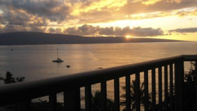 Photo for Whaler 1163 ocean and sunset views. Available February 5- March 19 annually.