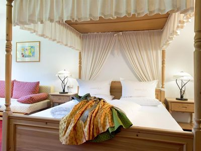 Photo for Four-poster room with shower, bath, WC - Almwellness-Resort Tuffbad