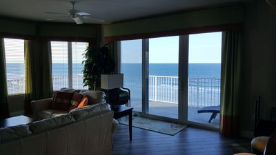 Breathtaking Ocean and Beach Views from inside and out - Huge corner balcony