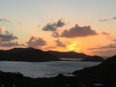 Photo for Great Location Beautiful Sunrises and Views in Coral Bay